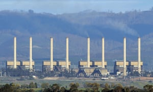 The Hazelwood power station in the Latrobe Valley, which opened in the 1960s. Analysts say that by the 2030s it will be cheaper to replace ageing coal-fuelled power stations with renewables than build new ones.
