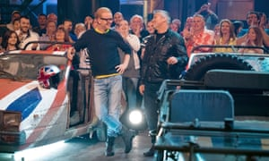 Too flaccid and eager to please … Chris Evans and Matt LeBlanc in Top Gear.