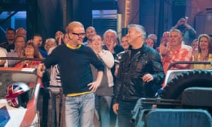 Chris Evans and Matt LeBlanc presenting the new Top Gear.