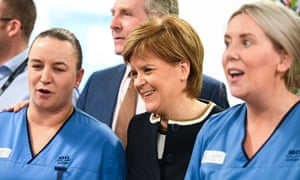 Nicola Sturgeon opening the NHS Tayside Trauma centre at Ninewells Hospital this morning.