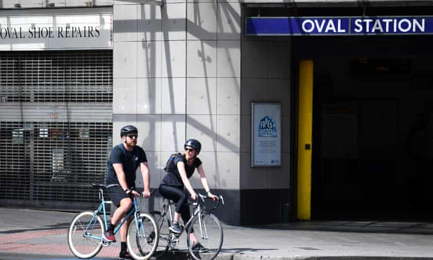 More people have cycled to work during the UK coronavirus lockdown.