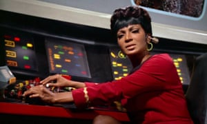 Nichelle Nichols as Uhura in A Piece of the Action.