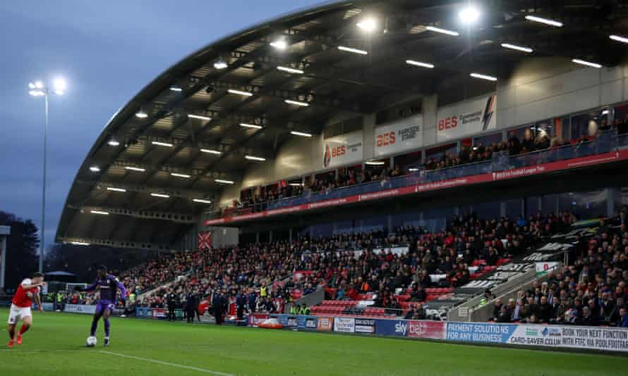 Fleetwood's Highbury Stadium