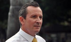 WA Labor leader Mark McGowan