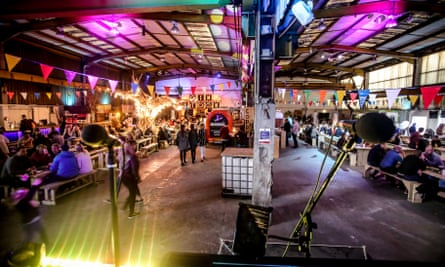 Cardiff's Depot's Street Food Social is a Saturday night shindig with food from five traders