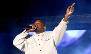 Against the Tidal: Kanye West at Coachella.