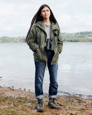 'Going outside is my version of meditation': Mya-Rose Craig.