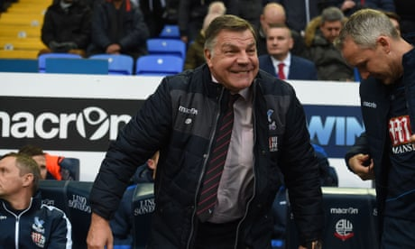 Sam Allardyce looks to stiffen Crystal Palace's defensive resolve
