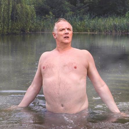 Flamboyant idiocy … Greg Davies