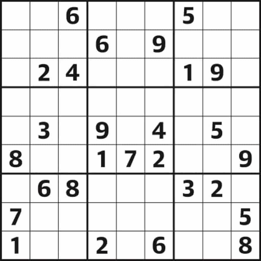 Sudoku 5,108 medium