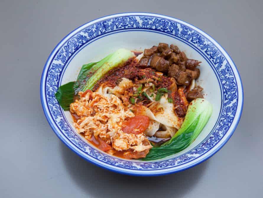 Those biang biang noodles at Master Wei, London.