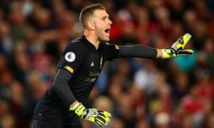 Liverpool signed Adrián on Monday as cover for the departing Simon Mignolet,