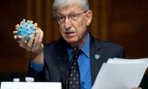 Francis Collins, director of the National Institutes of Health in the US.