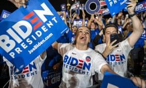 Joe Biden: frontrunner once again.