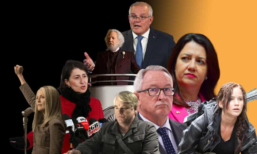 If Australia's Covid vaccine rollout was the Hunger Games, Gladys Berejiklian would be Alma Coin, Scott Morrison the tyrannical dictator President Snow, Brad Hazzard Plutarch Heavensbee and Annastacia Palaszczuk the accidental rebel leader Katniss Everdeen.