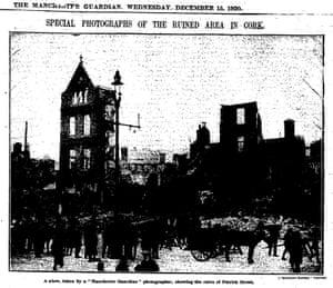 Ruined buildings in Patrick Street Cork, page 5, 15 Dec 1920