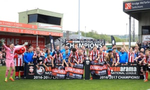 The party begins for Lincoln City, with their victory over Macclesfield securing promotion and the title.