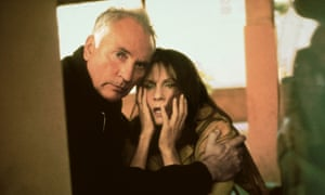 Terence Stamp and Lesley Ann Warren in The Limey.