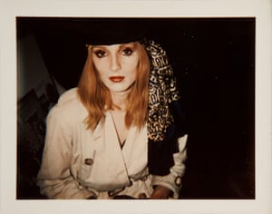 Candy Darling in 1969 from Andy Warhol, Polaroids 1958-1987