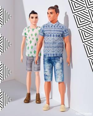 Man-buns a go go: the new Ken dolls.
