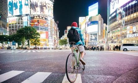A crossroads in Shibuya, Tokyo