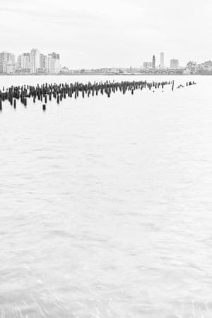 Hudson River, opposite Bethune Street
