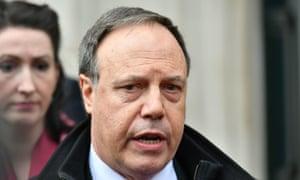 Nigel Dodds, the DUP's deputy leader