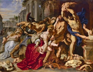 Rubens' The Massacre of the Innocents.