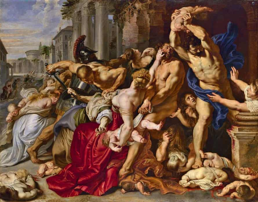 Rubens' The Massacre of the Innocents.