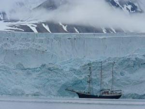 """""""Missed the Passage,"""" Digital photo taken during my expedition to the Arctic Circle, 2015."""