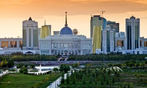 Nazarbayev's presidential palace
