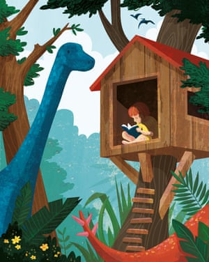 Review Magazine Summer books - dinosaur