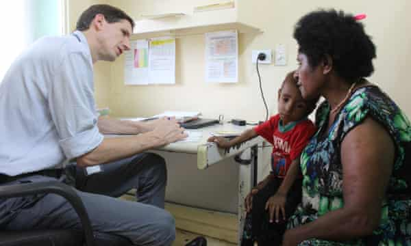 Samuel, three, was admitted to hospital with severe malnutrition