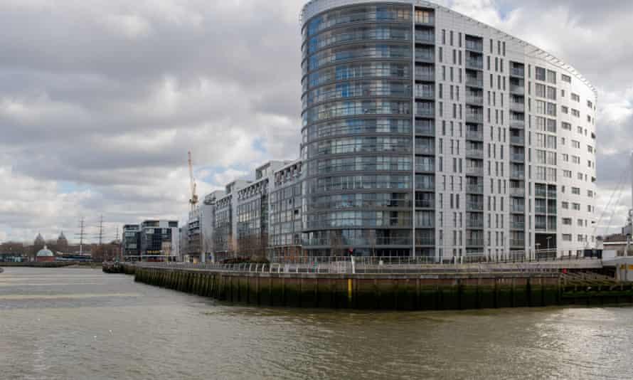 New Capital Quay in Greenwich, London.
