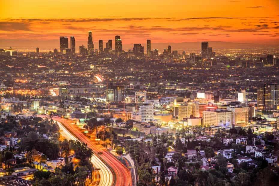 Los Angeles at dawn