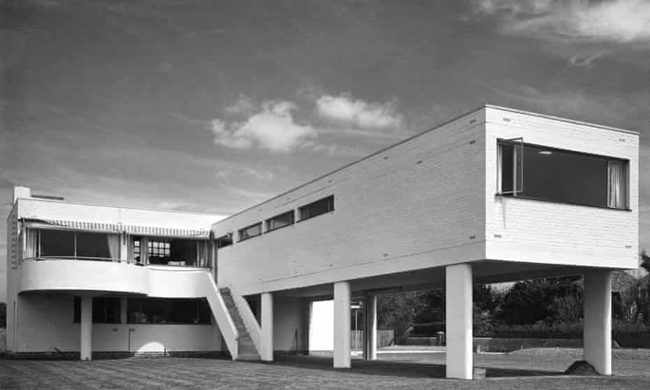 Radical … Marcel Breuer's Sea Lane House in Angmering-on-Sea, West Sussex; it is featured in Beyond Bauhaus.