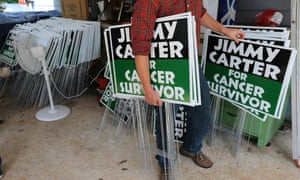 Jimmy Carter signs