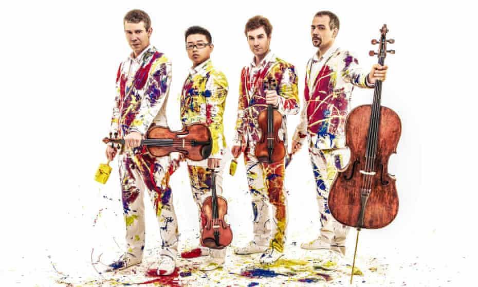 Contemporary specialists with Romantic awareness … Quatuor Diotima