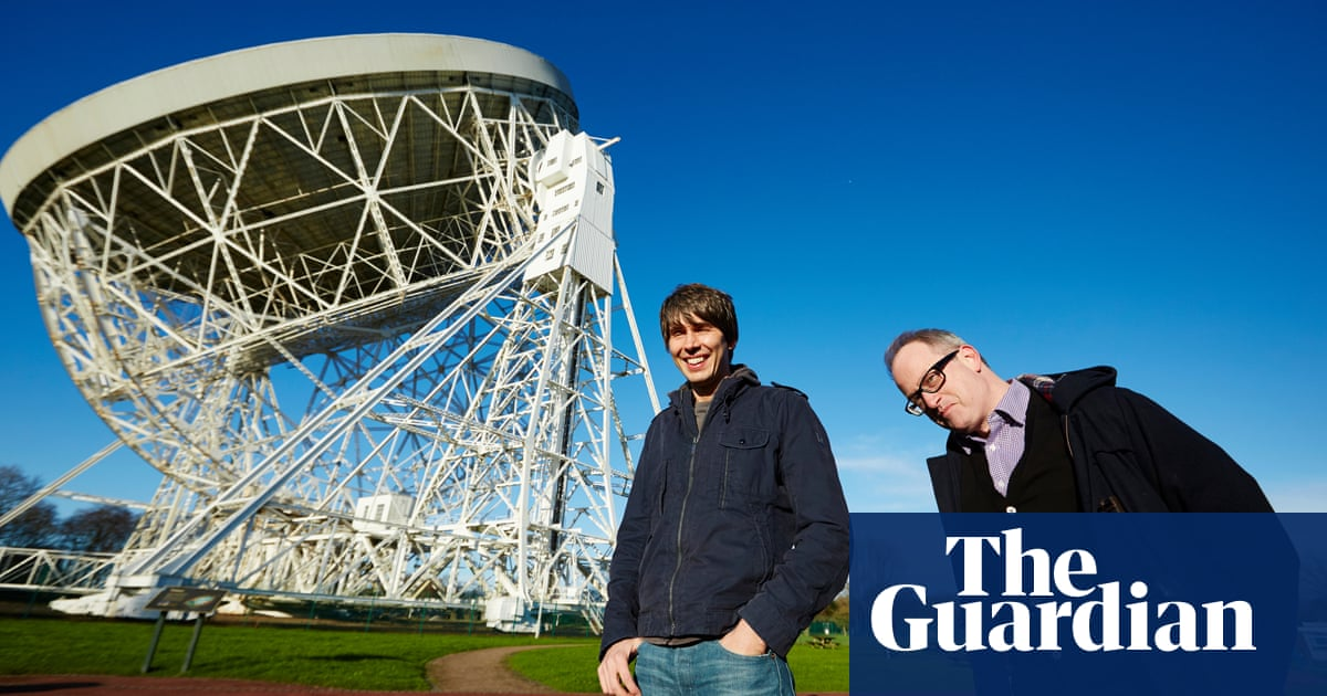 Can you grow potatoes on Mars?': Brian Cox and Robin Ince