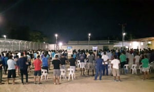 Refugees and asylum seekers on Papua New Guinea's Manus Island