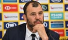 'I hope the fan is happy,' says Cheika after Lukhan Tui incident – video