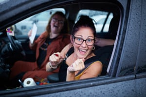 Bingo Bedlam, a socially distant drive-in bingo