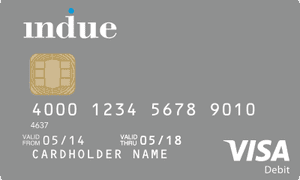 A cashless welfare card – known as the 'indue card'.