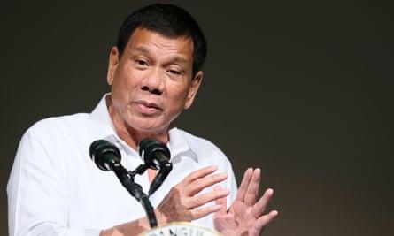 President Rodrigo Duterte during his visit to Japan.