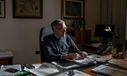 Ludovico Vaccaro, head prosecutor of Foggia.