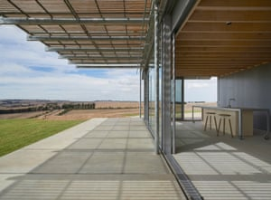 National Award for residential architecture –houses (new) House in the Hill, at Barrabool, Victoria.  By Sean Godsell Architects.