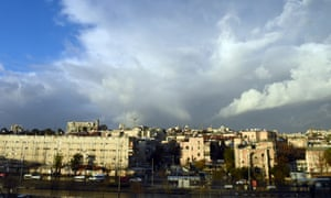 Jerusalem seen from west of the green line. During his election campaign, Donald Trump pledged to move the US embassy to Jerusalem – a potentially explosive move.