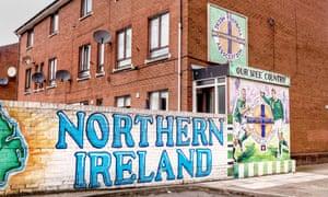 Sandy Row in Belfast, where Ireland grew up.