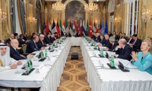 The Syria peace talks in Vienna in October. 'The International Syria Support Group should encourage, facilitate and enable Syrians to change the course of their future.'