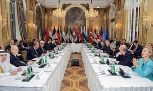 Vienna peace process on Syria – 19 foreign ministers, only one of them a woman, met to discuss ways to end the conflict
